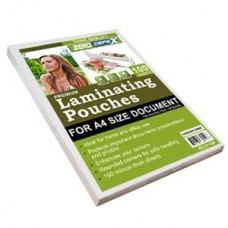 A4 Laminating Pouches, (100 pack)