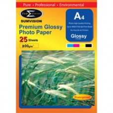 A4 190G Glossy Photo Paper (20 Sheets)