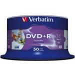 Verbatim DVD+R 16X, Inkjet Printable (50)
