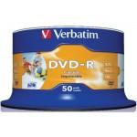 Verbatim DVD-R 16X, Inkjet Printable (50)